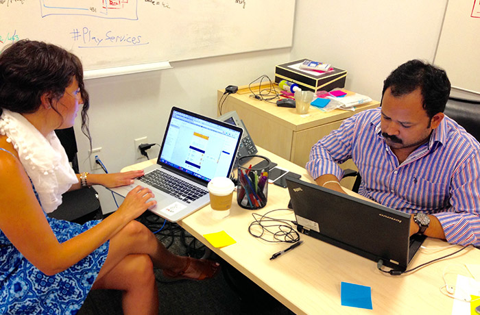 Sapient team at work