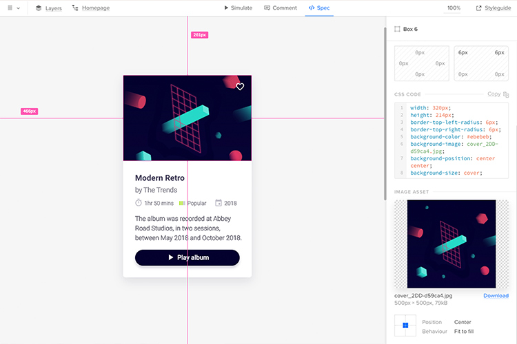 One workflow for designers and developers