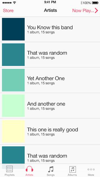 iOS 8 UI Design Kit for Free