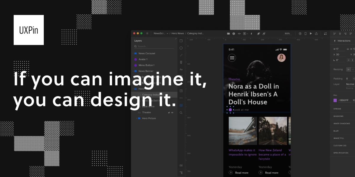 Uxpin The Premier Ux Design Platform