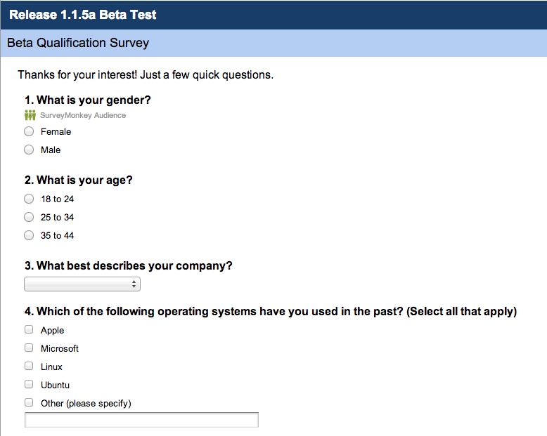 Guide to UX Design Process & Documentation - User Survey