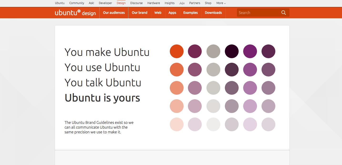 Ubuntu style guide