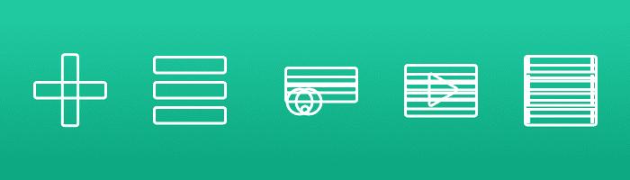 Icon design system teaser